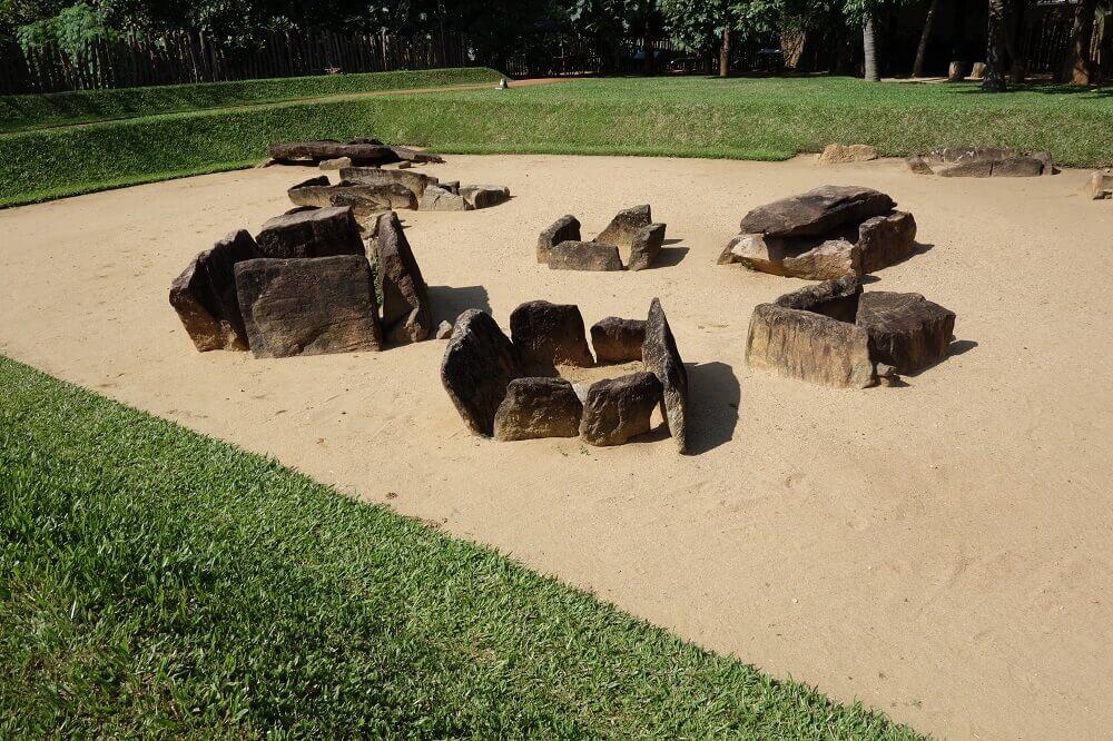 Megalithic site of Ibbankatuwa, Sri Lanka. © Osmund Bopearachchi.