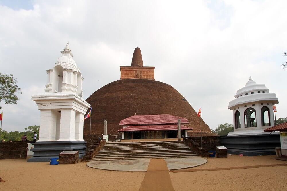 The Abhayagirivihara Stupa. © Osmund Bopearachchi.