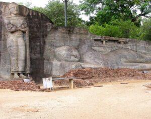 Polonnaruwa Galvihara. © Osmund Bopearachchi.