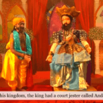Andare and the King puppets from Don Bopearachchi's puppet show (c) Renaissance Sri Lanka