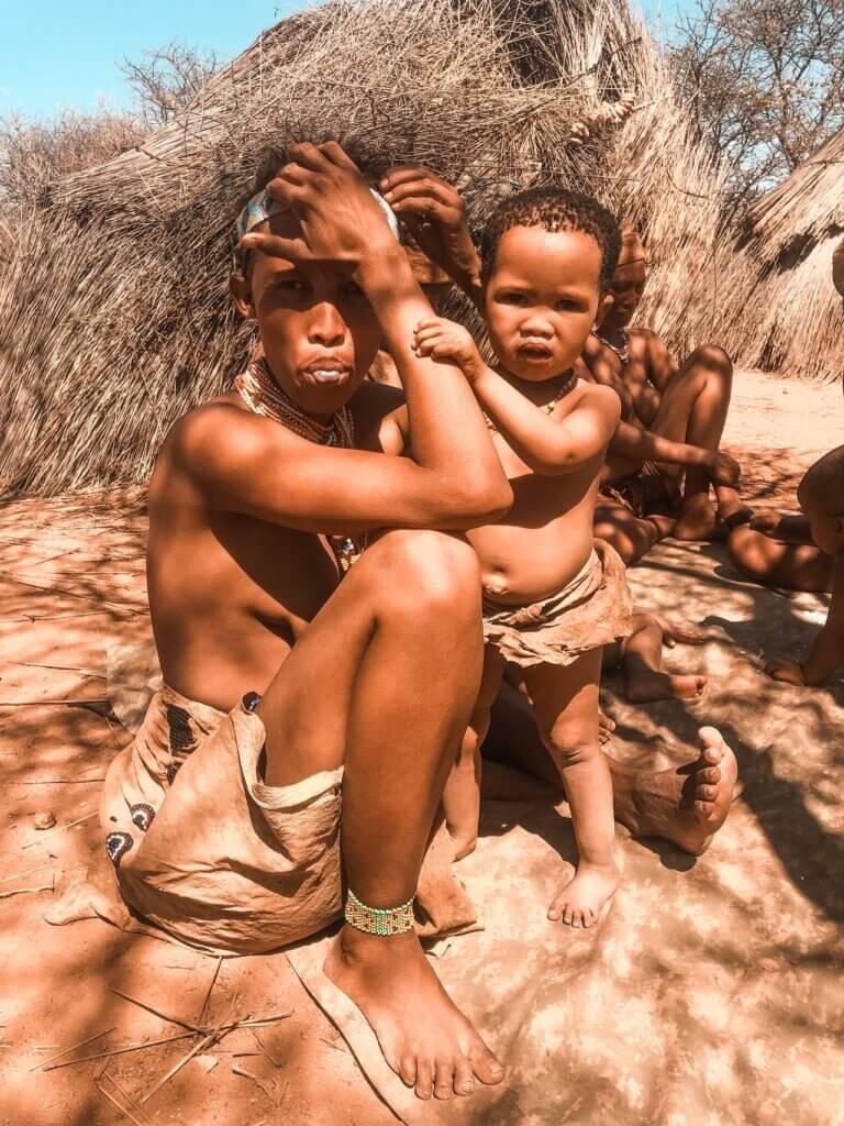 San people in Namibia © Jessie Crettenden Unsplash